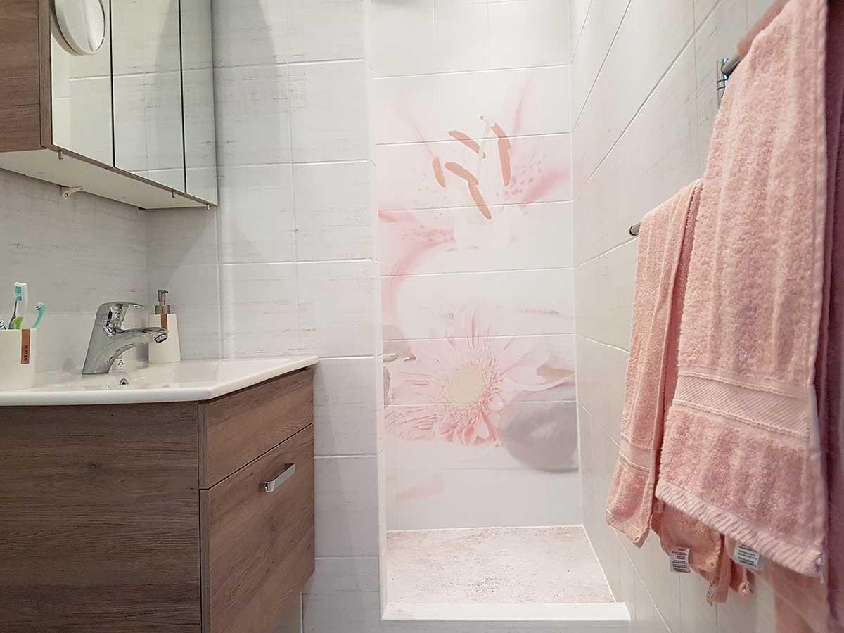 print-op-badkamermuur